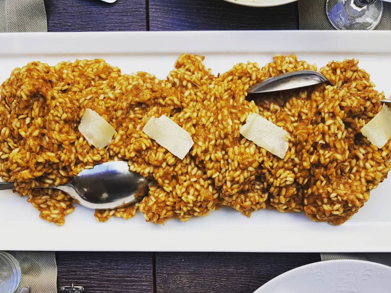 Skradin risotto, gastronomy, national park krka, www.zadarvillas.com